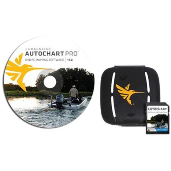 Logiciel de création de carte Autochart PRO + carte Zero lines Humminbird