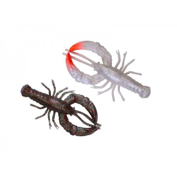 Leurre Souple Reaction Crayfish 10cm par 4 Savage Gear