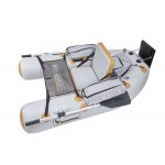Float Tube Expedition V2 180 Gris/Orange Sparrow