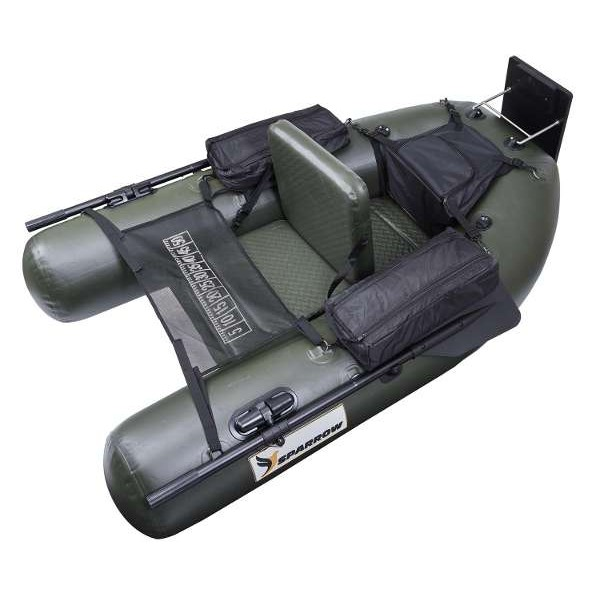 Float Tube Expedition V2 180 Olive/Noir Sparrow